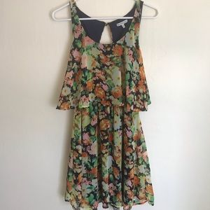 Charlotte Russe Floral dress mid length sleeveless
